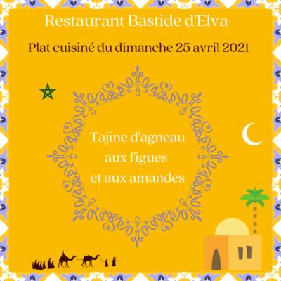 LA BASTIDE DELVA Restaurant Laval Dimanche 25 Avril 2021